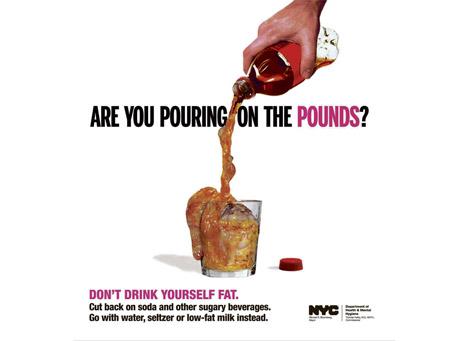 Szokująca kampania przeciw otyłości