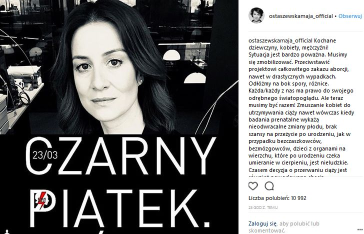 Czarny piątek - Maja Ostaszewska