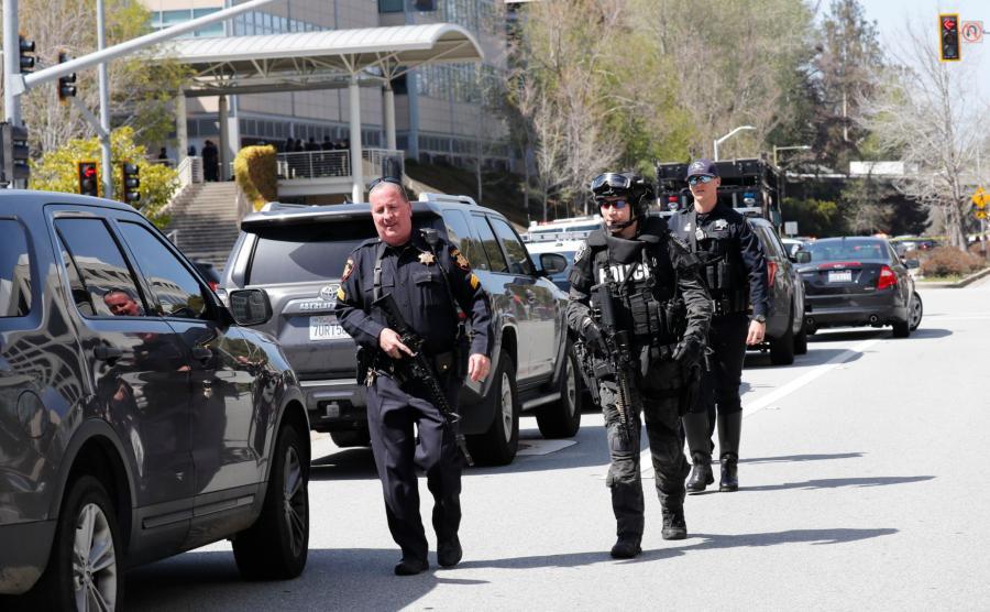 Policja w San Bruno