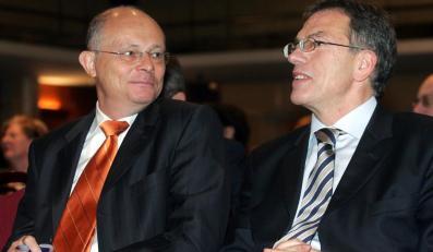 Twarze nowego lewicowego ruchu: Marek Borowski i Dariusz Rosati
