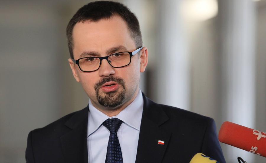 poseł Marcin Horała