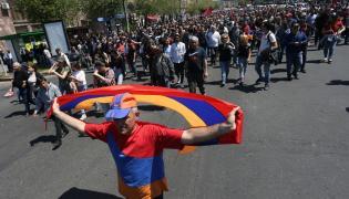 Protesty w Armenii