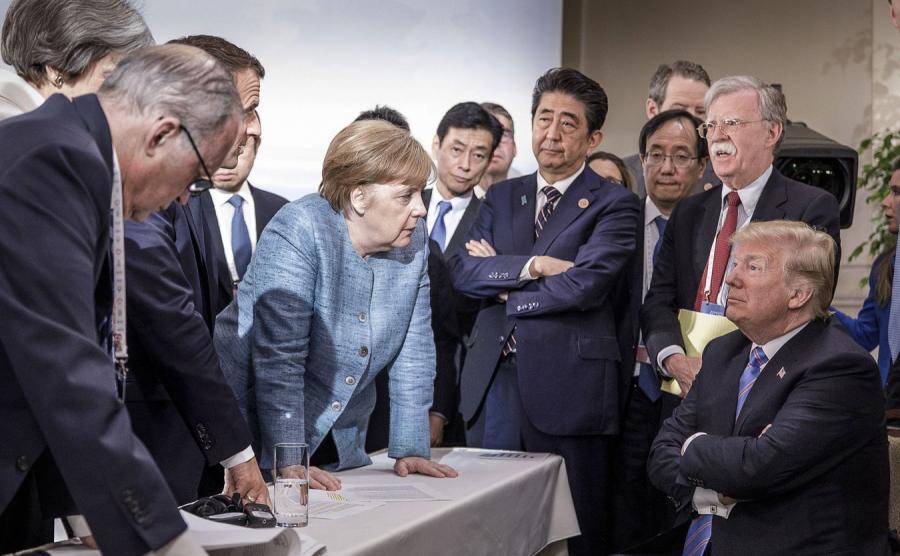 Szczyt G7 nie przebiegał w najlepszej atmosferze