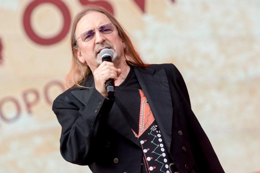 Marek Piekarczyk na Life Festival Oświęcim. Fot. Konrad Kubuśka