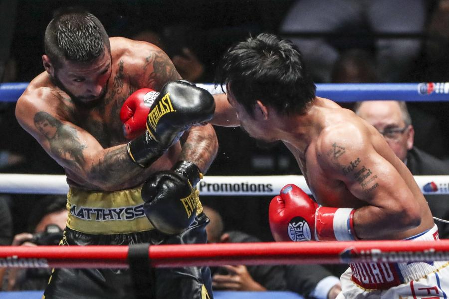 Manny Pacquiao i Lucas Matthysse