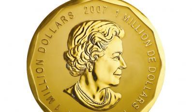 Największa moneta świata zawita do muzeum narodowego