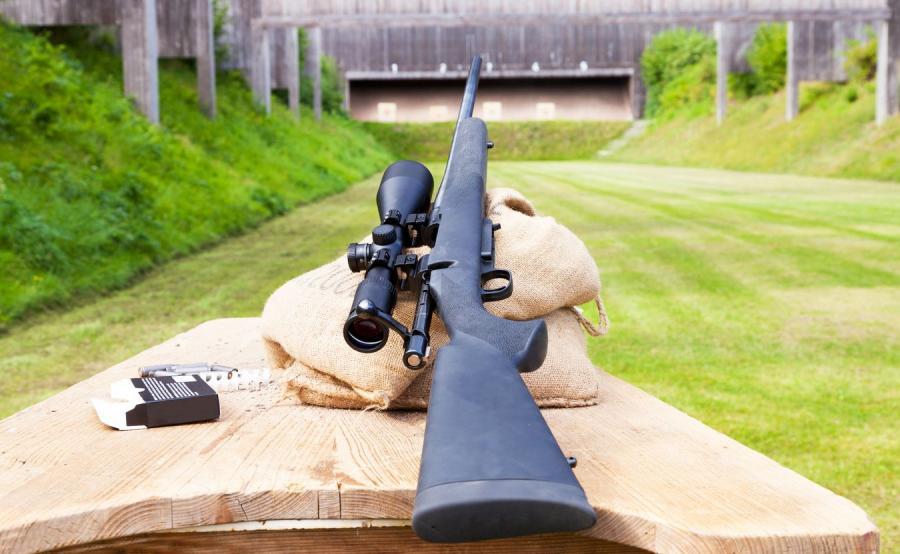 Karabin i strzelnica