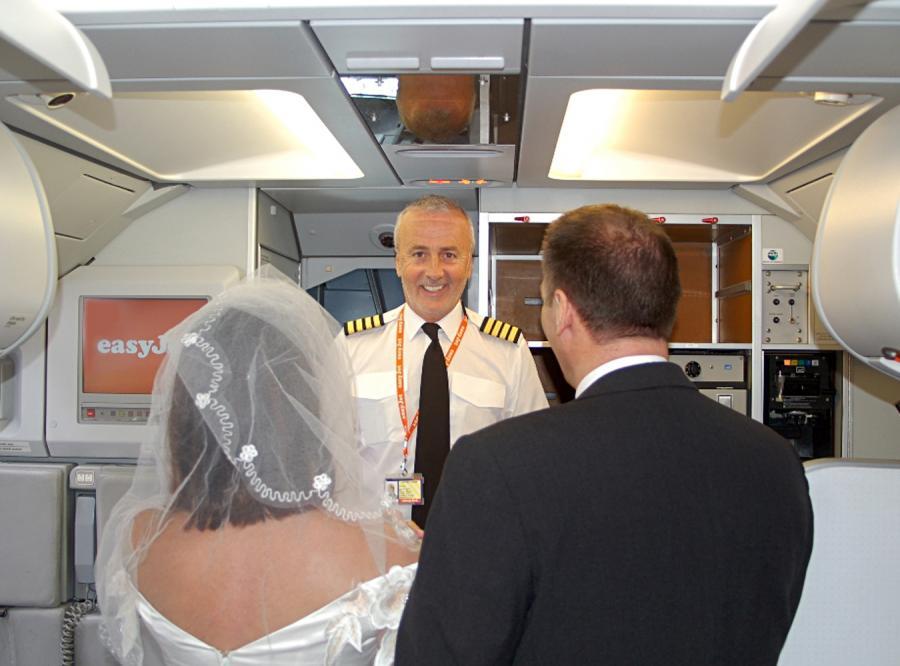 Czy wzięłabyś ślub na pokładzie samolotu?
