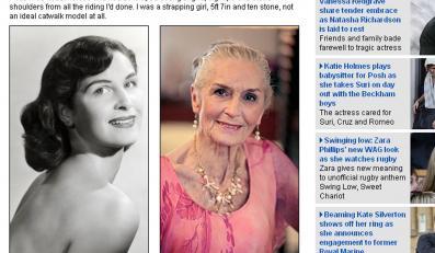 Najstarsza modelka świata ma osiemdziesiąt lat!