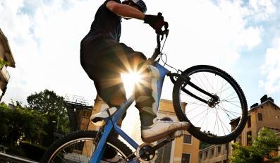 Dla rowerzystów powietrze jest czystsze