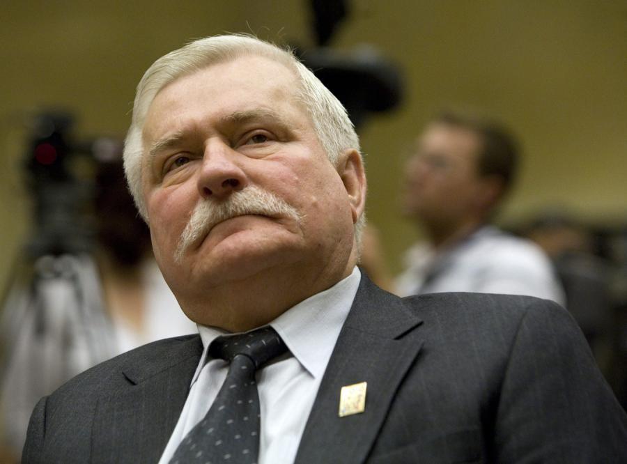 Wałęsa w obozie wroga zjednoczonej Europy