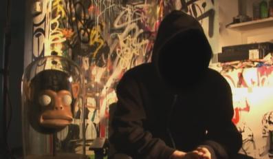 W roli głównej tajemniczy pan Banksy