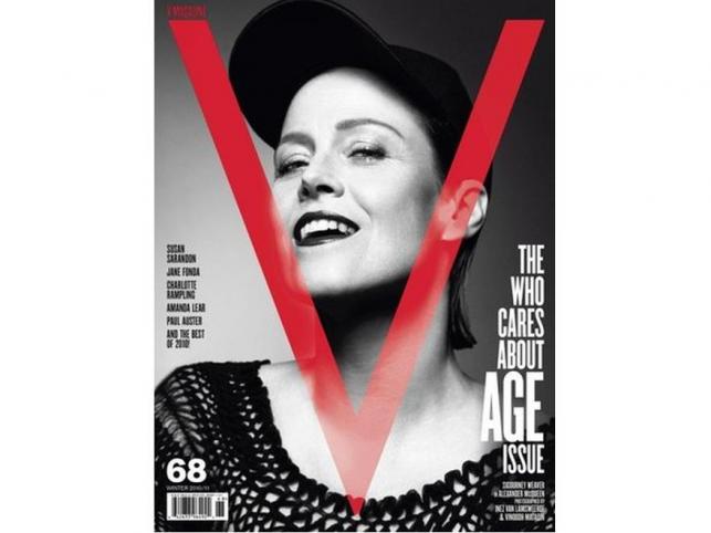 """Sigourney Weaver (61 l.) dziewczyną z okładki """"V Magazine"""""""
