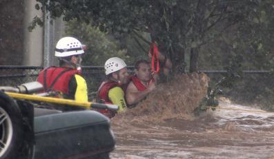 Wielka woda zagraża Brisbane. Ewakuacja tysięcy ludzi