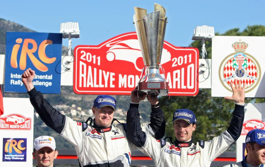 Rajd Monte Carlo - triumf mistrza Polski
