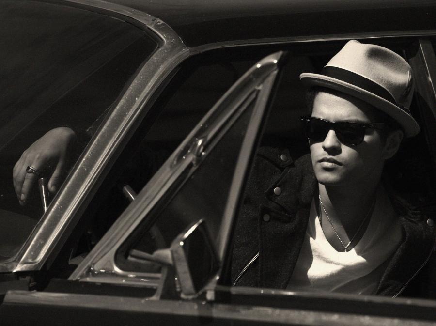 Bruno Mars znów ma wzięcie na Wyspach