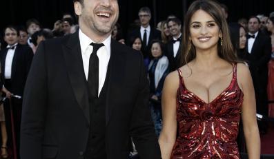 Penelope z mężem Javierem