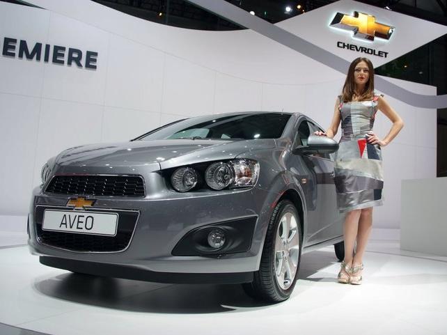 Chevrolet Aveo - mały sedan prosto z Genewy