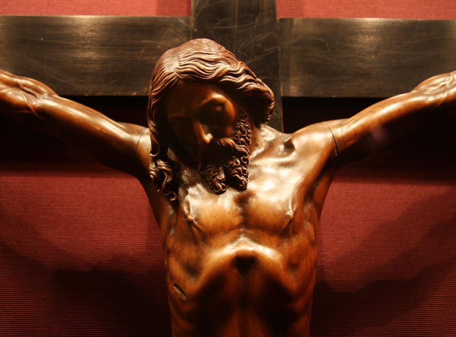Jezus Chrystus na krzyżu - zdjęcie ilustracyjne