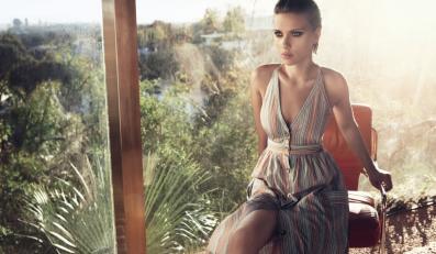 Scarlett Johansson - ostatnia sesja dla Mango