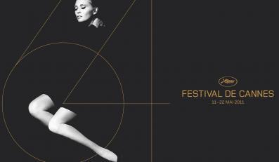 Faye Dunaway na plakacie reklamującym Cannes 2011