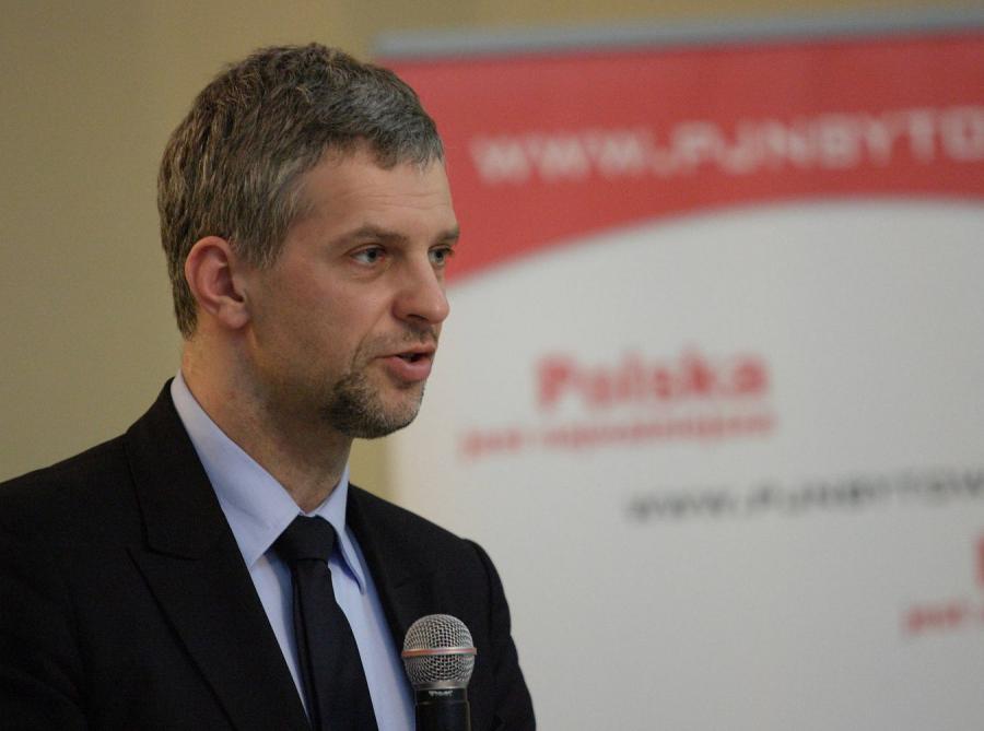 Paweł Poncyljusz z PJN
