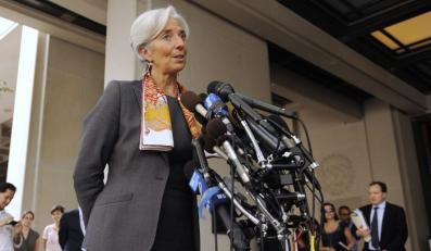 Christine Lagarde, pierwsza kobieta na czele MFW