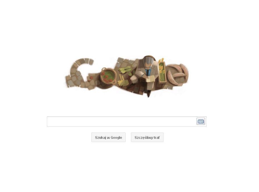 Logo Google w 100. rocznicę urodzin Czesława Miłosza