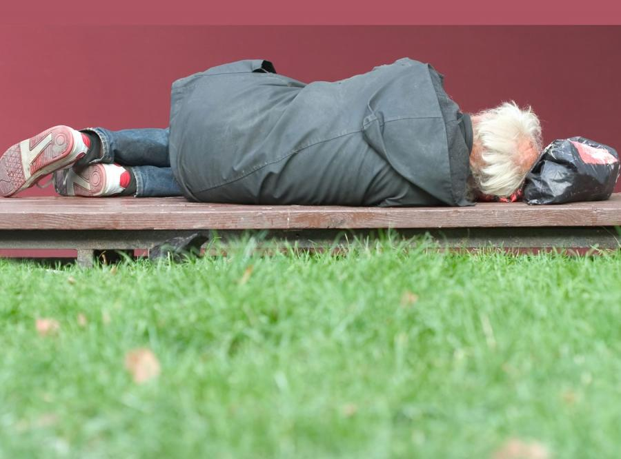 Bezdomny - zdjęcie ilustracyjne