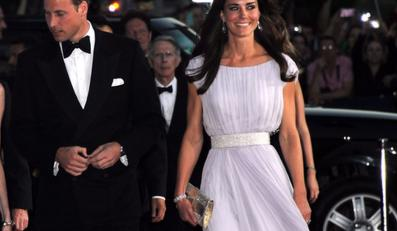 Książę William i księżna Catherine na inauguracji gali BAFTA