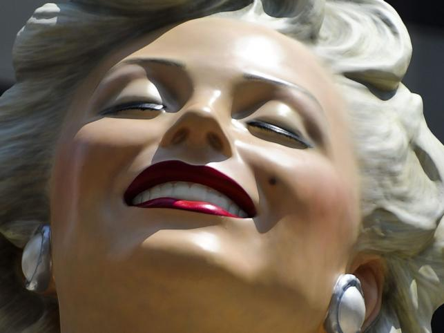Posąg Marylin Monroe w Chicago