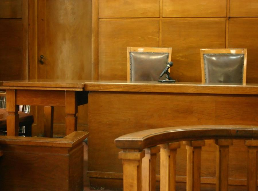 Sala rozpraw sądu