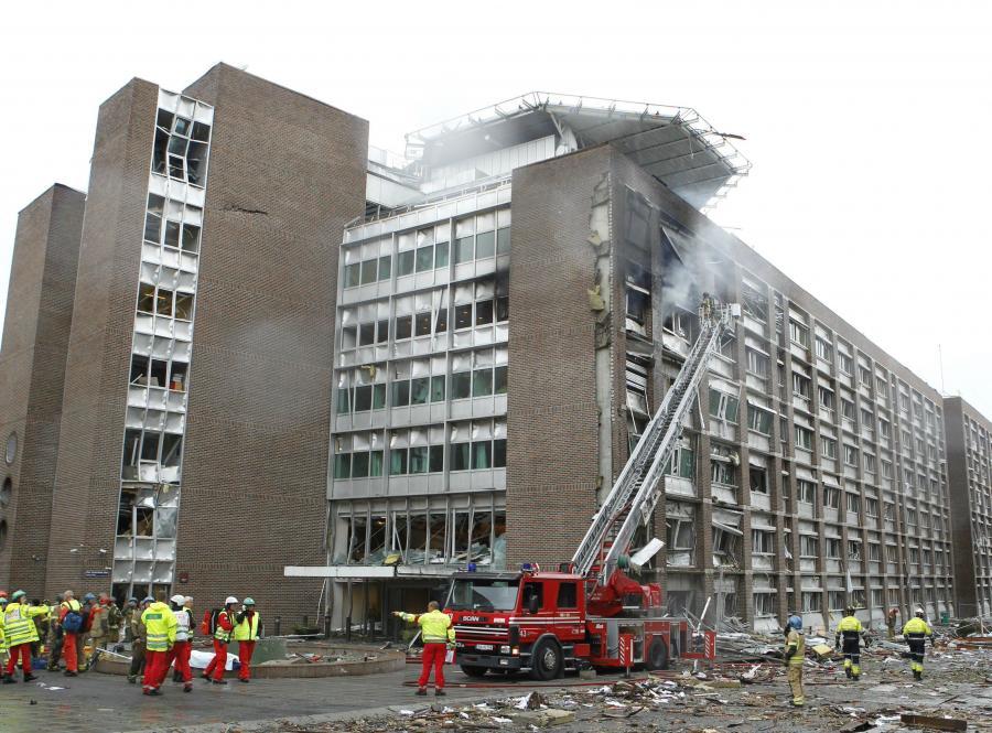W atakach w Norwegii zginęło ponad 90 osób