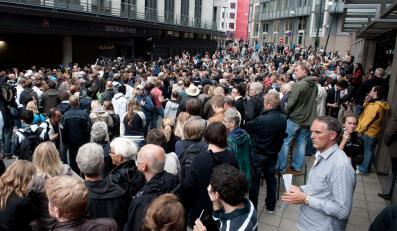 Tłum chciał zlinczować norweskiego oprawcę
