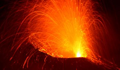 Eksperci: Możliwa wielka erupcja Etny