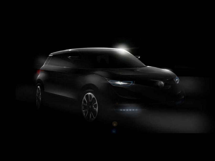 SsangYong Concept XUV 1