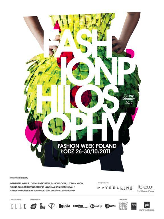 Plakat FashionPhilosophy Fashion Week Poland