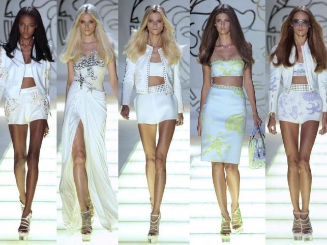 Kolekcja Versace na sezon wiosna/lato 2012