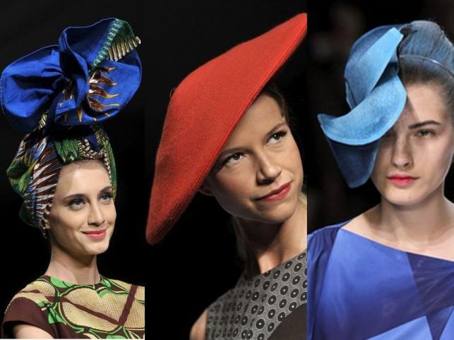Zaszalej z głową! Oryginalne kapelusze na światowych wybiegach