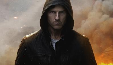 "Tom Cruise w ""Mission: Impossible - Ghost Protocol"""