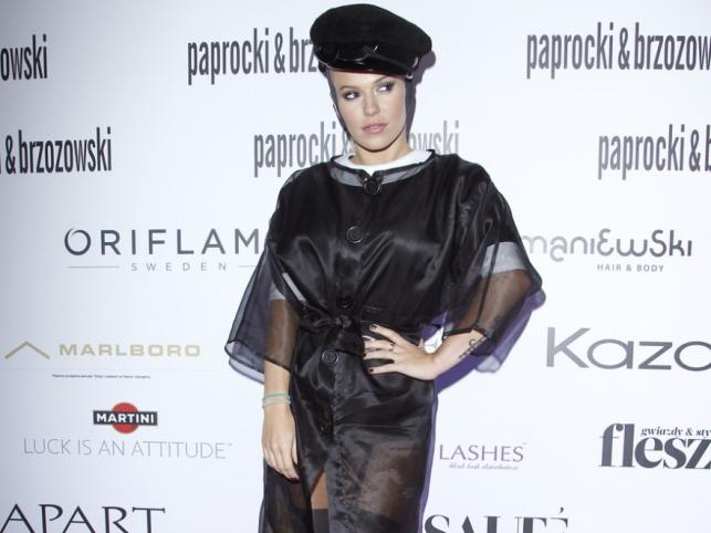 Doda na pokazie kolekcji Paprocki&Brzozowski na sezon wiosna/lato 2012.