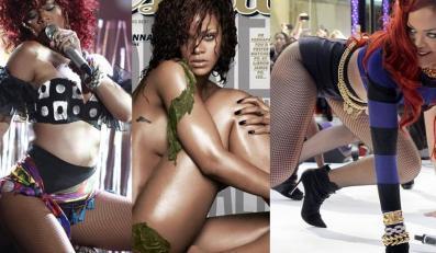 Rihanna zaszalała w sex shopie