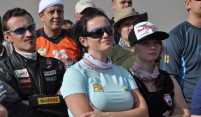 Iza Małysz na podium w klasyfikacji VIP