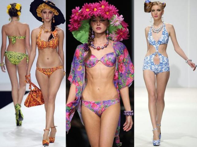 Nagość ubrana w kwiaty: trendy w modzie na plażę