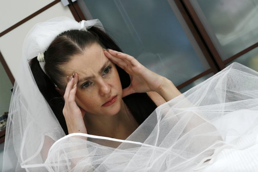Są kobiety, dla których ślub nie jest powodem do radości.