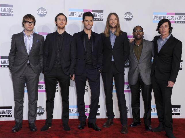 Adam Levine i Maroon 5