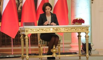 Minister sportu Joanna Mucha