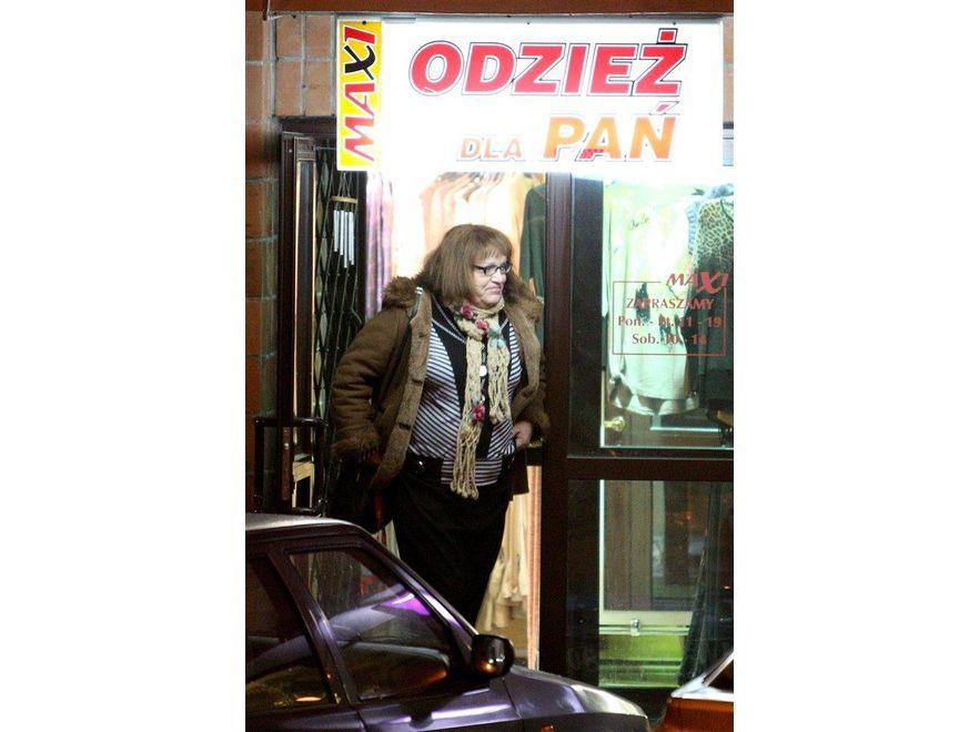 Anna Grodzka zaopatruje się w sklepach dla puszystych