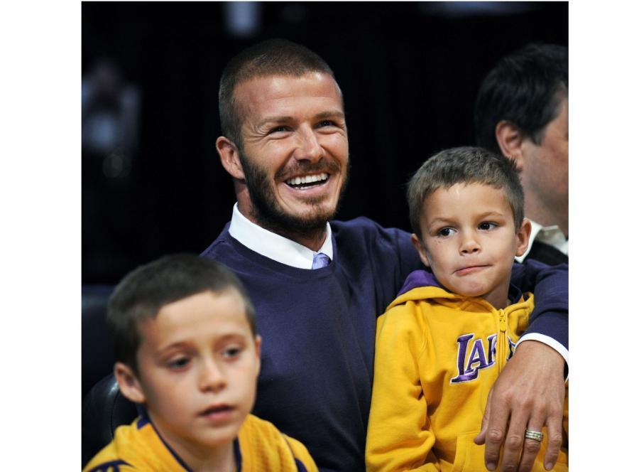 David Beckham i Romeo