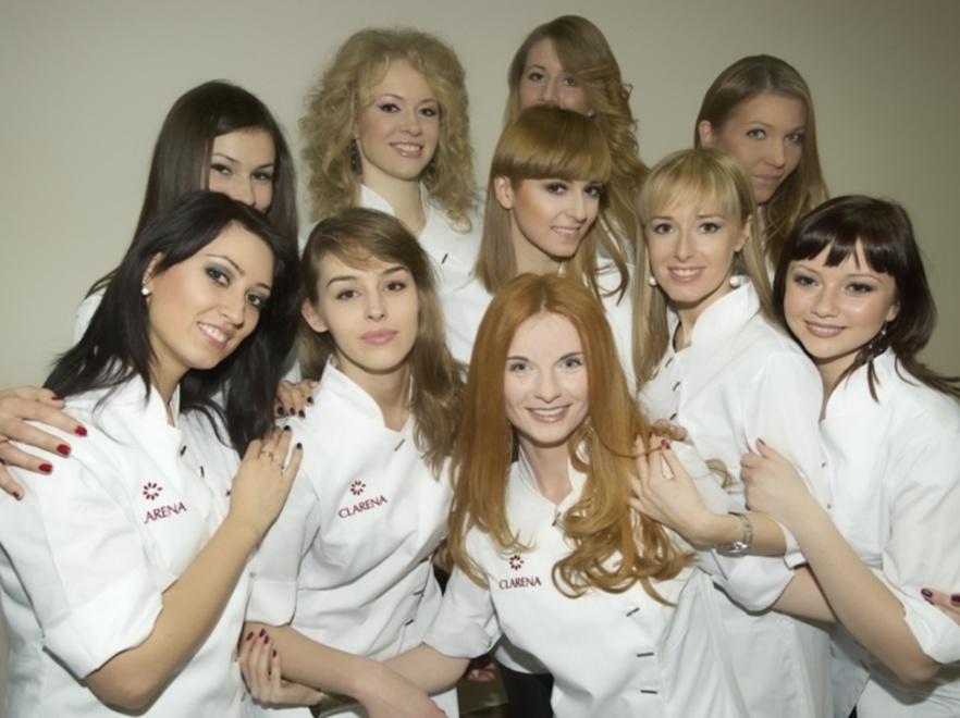 Kandydatki do tytułu Miss Kosmetyczek 2012.